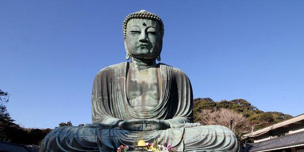 Buddahstatue in Japan