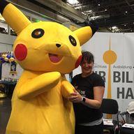 Bild mit Pikachu