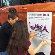 GPB College on Tour Aufkleber